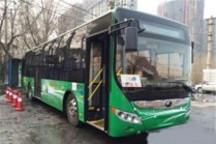 宇通插电式混合动力公交车哈尔滨试运营