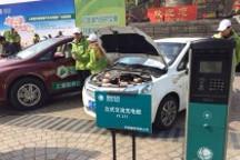 上海两年内新能源汽车超万辆充电桩超6千