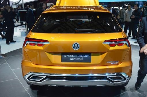之前发布的CrossBlue Coupe概念车