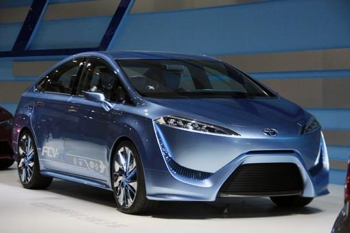 丰田燃料电池概念车