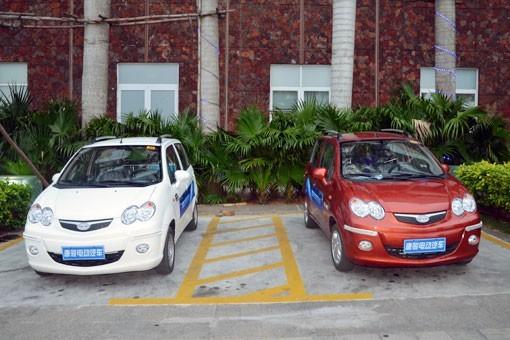 唐骏微型电动汽车