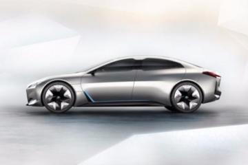 续航600KM,宝马全新电动概念车型Vision iNEXT亮相北京