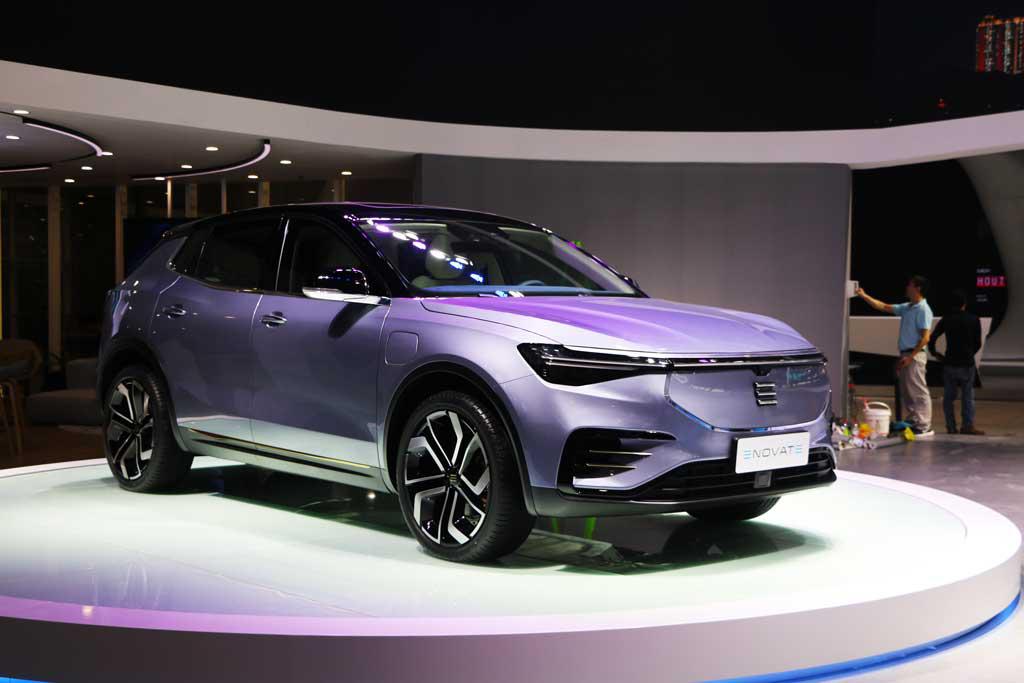 最大续航达700km  智能电动SUV-ME7亮相广州车展