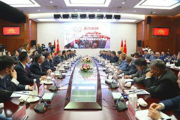吉尔吉斯斯坦总统到访北汽,望展开新能源汽车合作并建立合资企业
