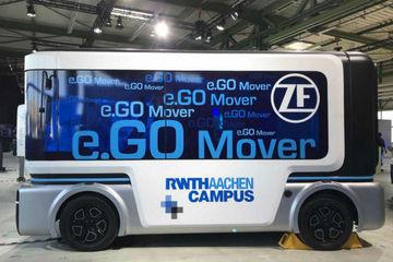 搭载采埃孚自动驾驶系统e.Go巴士将于2019年实现量产