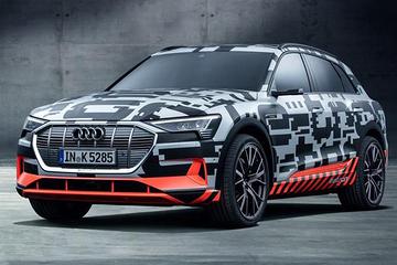 奥迪e-tron quattro纯电动SUV 将于9月17日首发