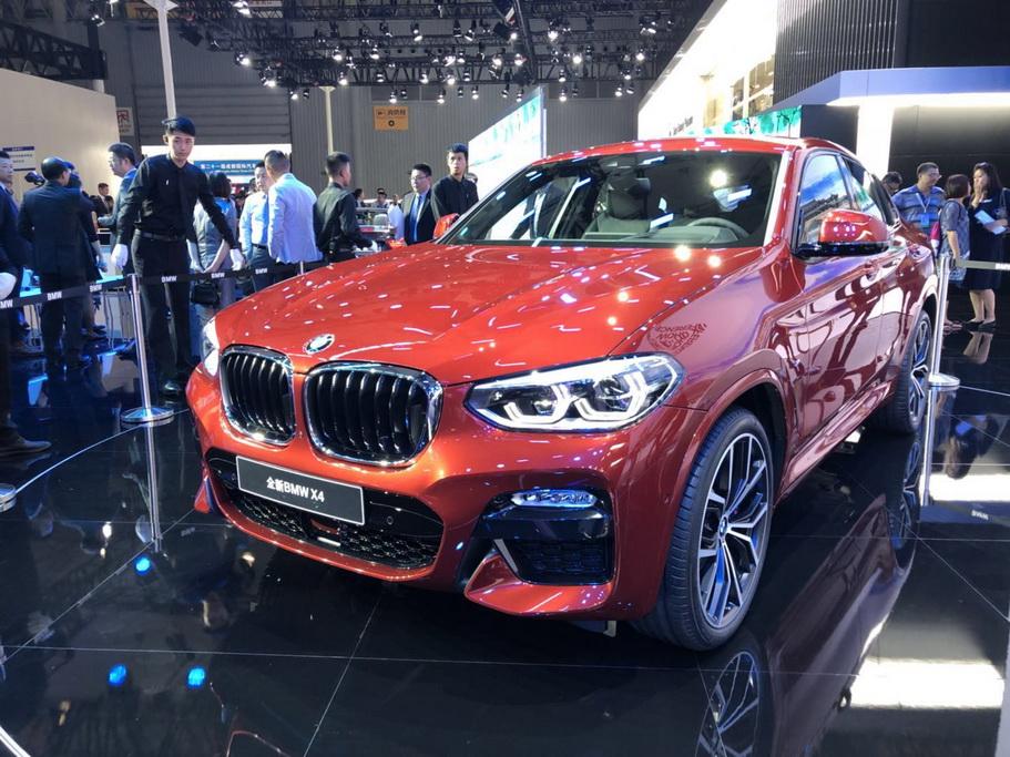 全新BMW X4正式上市 宝马携多款新能源车型亮相成都车展