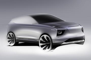 【新车驾到】爱驰U5量产版设计图发布 将于11月29日全球首发