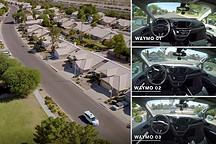 乘坐自动驾驶汽车什么感受?来看看WAYMO自动驾驶第一视角