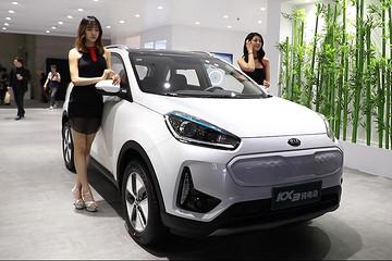 视频|丑萌系纯电动小车 KX3纯电动版本KX3 EV