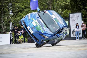 新车首秀 长安新能源逸动EV520亮剑CEVR