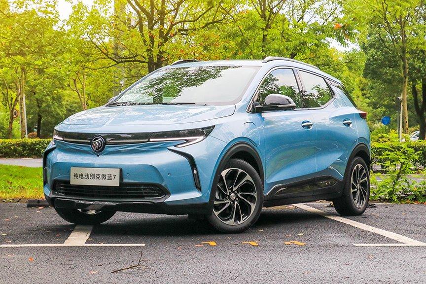 为啥买这车 | 别克微蓝7 属于精致青年的纯电SUV