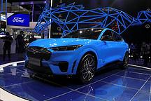 2020北京车展 福特Mustang Mach-E惊艳亮相!