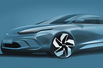 """""""中国版Model 3""""吉利GE11渲染图曝光  明年一季度上市"""