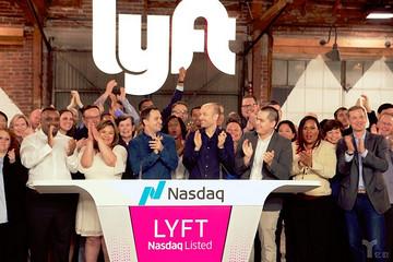 """网约车第一股""""Lyft""""在纳斯达克成功挂牌,估值约为243亿美元"""