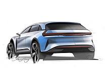 或为跨界SUV车型 广汽蔚来全新车型设计图曝光