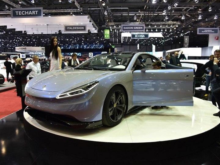 绿驰汽车 Venere 2018款  concept