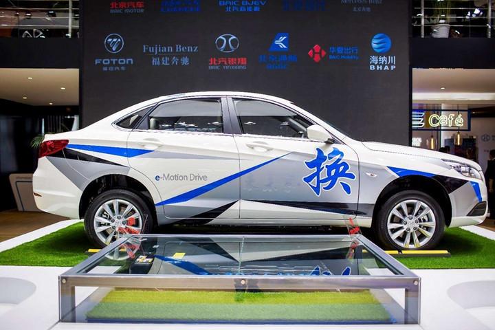 北京试运行 北汽新能源将启动私家车换电服务