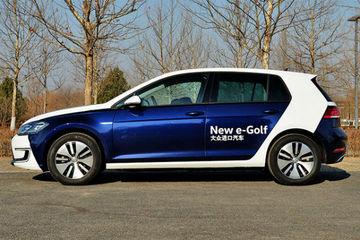 一汽-大众高尔夫纯电动明年开售,续航或超300km