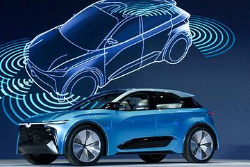 """合众新能源发布Eureka 01概念车,实现""""数字终端""""和""""数字生活""""的无缝对接"""