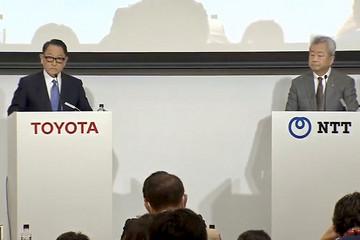 加速转型移动出行 丰田、NTT互投18亿美元