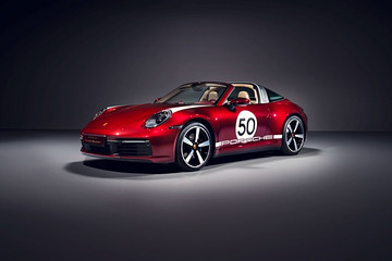 全新保时捷911 Targa 于深圳车展全球首秀