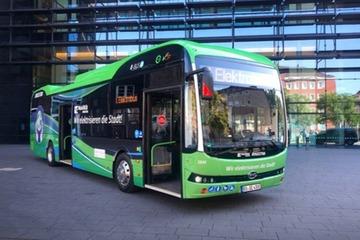 比亚迪纯电动大巴交付德国市场