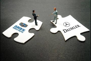 戴姆勒、吉利以及旗下品牌拟就一款高效混合动力系统展开合作