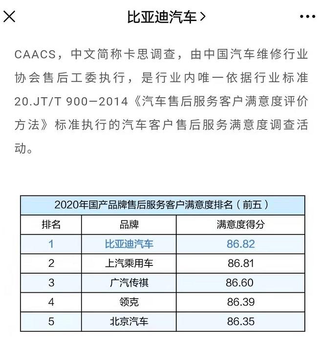 上海元EV车主:售后糟糕且无视安全隐患,不会再买比亚迪了