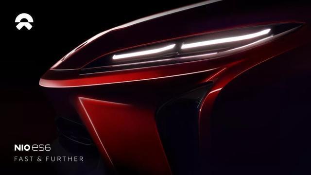 NIO ES6-蔚来和电动汽车更快的未来