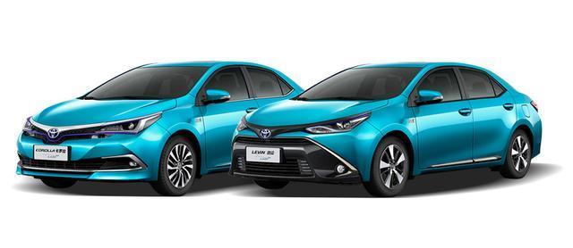 新能源汽车首选,丰田卡罗拉-雷凌插电混合动力