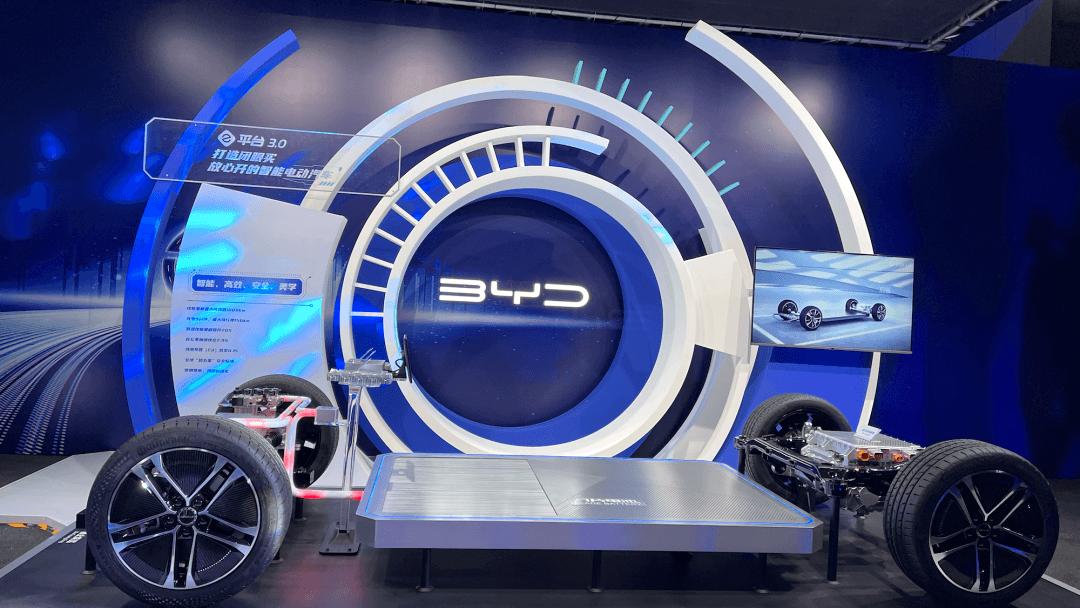因为比亚迪所以电动车,划时代e平台3.0正式发布