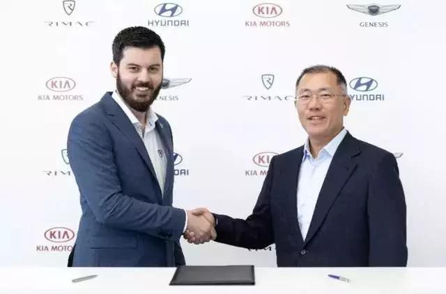 现代汽车集团与Rimac合作开发高性能电动汽车和燃料电池汽车