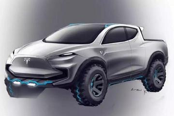电动皮卡没有未来?  特斯拉将推四驱电动皮卡车型