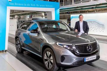 奔驰EQC在德正式投产 机遇的背后仍有挑战