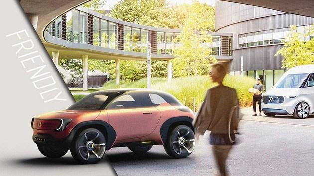 奔驰和smart联手造小型SUV,你有兴趣买一辆吗?