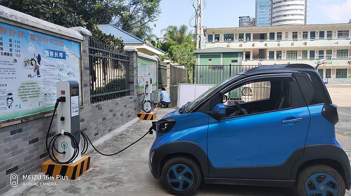 广东省电动车充电桩运营数量全国第三,以公共交流桩为主