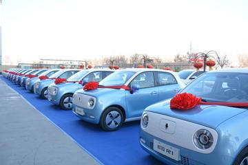 刚上市就迎千台交车,欧拉R1成新能源车市一大奇兵