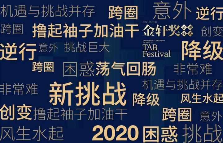 如果用一个词形容2020,会是什么?还有2021……