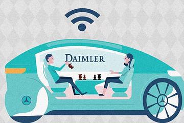 德国汽车巨头跨入自动驾驶出租时代