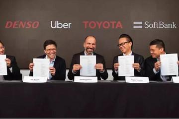 Uber自动驾驶获软银、丰田、电装10亿美元投资