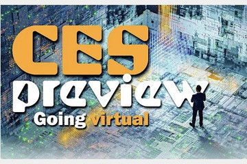 头一届虚拟CES,有什么和汽车沾边的新技术?