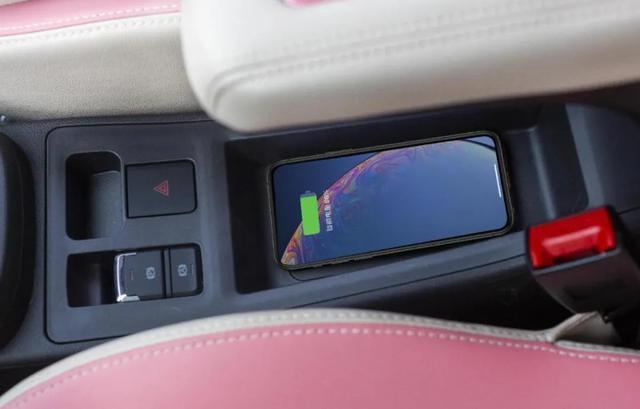 原厂粉色车身,内饰少女粉,综合续航301km,这台女王小车你爱吗