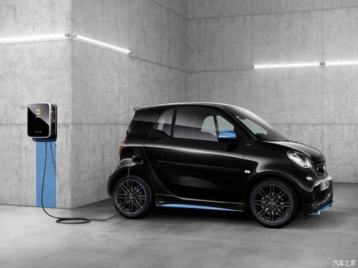 smart smart fortwo新能源 2018款 eq nightsky special edition