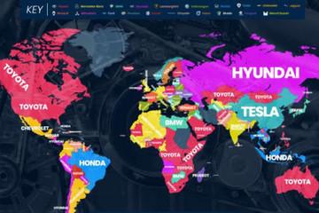 2018全球汽车品牌网络搜索排行:日系车频次最高