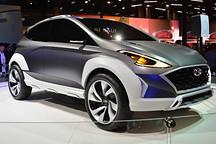 纯电动小型SUV 现代Saga EV概念车发布