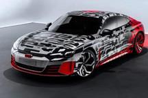 """奥迪发布了e-tron GT全电动汽车的""""伪装图"""""""