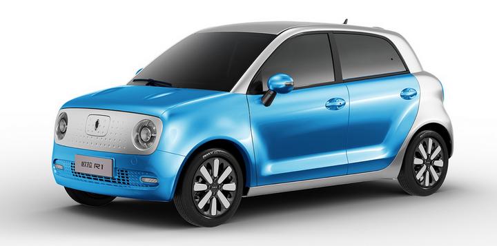 欧拉R1正式上市 官方补贴后售价为5.98万-7.78万元