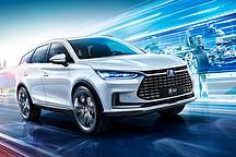 2019上海国际车展新美学候选车型——比亚迪唐EV