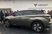 """合众第二款量产车""""U""""曝光于北京设计中心"""